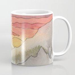 Rusty Light on the Pines Coffee Mug
