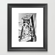 Ladder Progression Framed Art Print