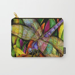 Dragonfly Revisited Carry-All Pouch