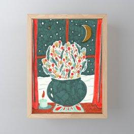 Winter Solstice Still Life by Amanda Laurel Atkins Framed Mini Art Print