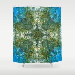 Nature's Medallion Shower Curtain