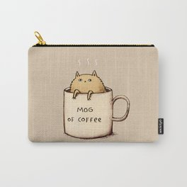 Mog of Coffee Carry-All Pouch