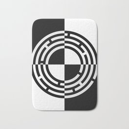 The Maze - Alternate Bath Mat