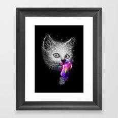 Slurp! Framed Art Print