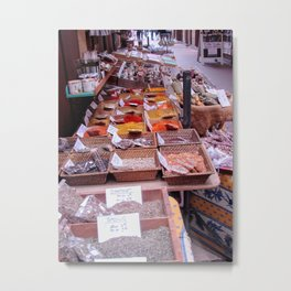 Spices in Old Town Nice Metal Print