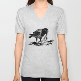 Crow's nest Unisex V-Neck