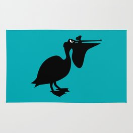 Angry Animals: Pelican Rug