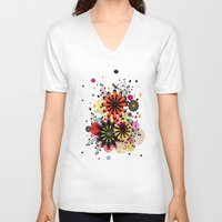 blossom V-neck T-shirts featuring Blossom by Kakel