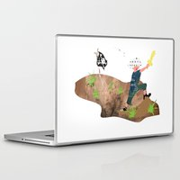 pirate Laptop & iPad Skins featuring Pirate by Design4u Studio