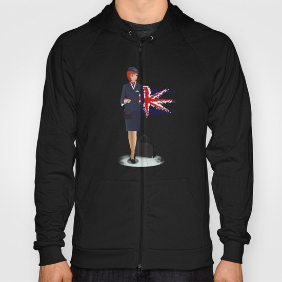 Come fly with me, let's fly, let's fly away - England Hoody