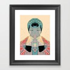 FORTUNE COOKIE Framed Art Print