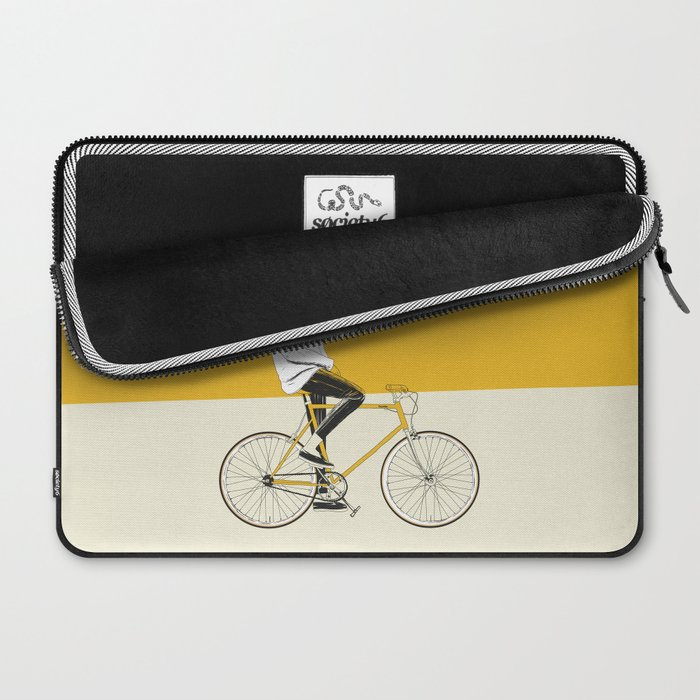 The Yellow Bike Laptop Sleeve