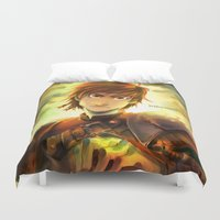 hiccup Duvet Covers featuring Hiccup by keiden