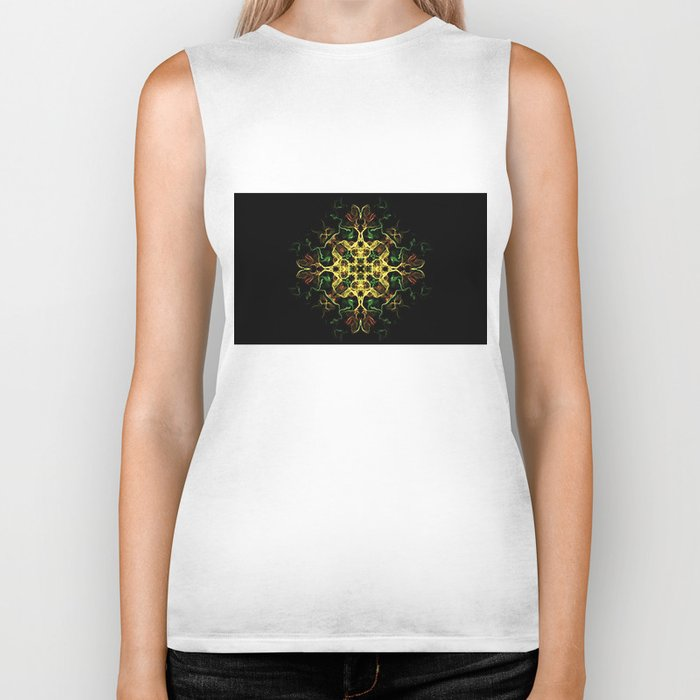 The Evening Star Merry Christmas and Happy New Year !! Biker Tank