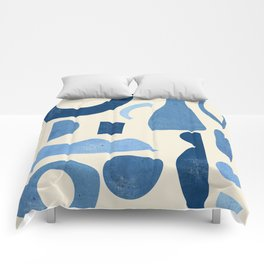 Abstract Shapes 38 Comforters