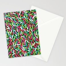 Encrusted With Sprinkles (Holiday Edition) Stationery Cards