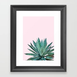 agave Framed Art Print