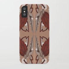 Four Feathers iPhone X Slim Case
