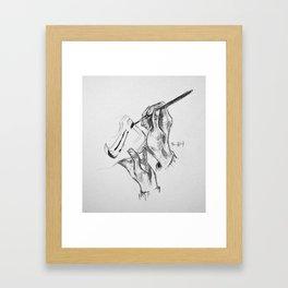 JustDoIt Framed Art Print