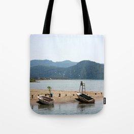 The Kite Surfers Beach Akyaka Turkey Tote Bag