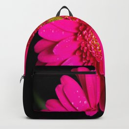Large Pink Gerber Daisy Backpack