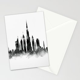 Dubai Skyline Stationery Cards