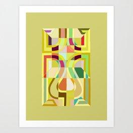 Drunkard's Path Art Print