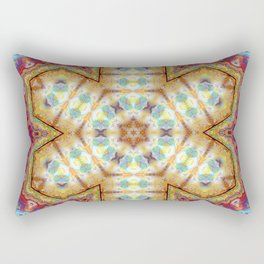 Mandala - Divine Beauty in the Union of Opposites Rectangular Pillow