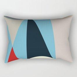 Mid Century Modern Vintage 15 Rectangular Pillow