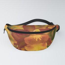 Orange Orchid Fanny Pack