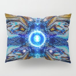 Cosmic Collage Pillow Sham