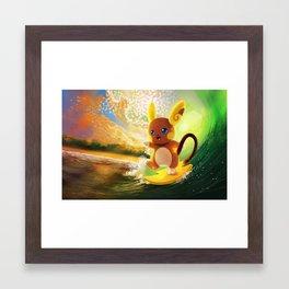 Surfs Up Framed Art Print