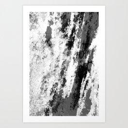 Perseverance Black & White Art Print