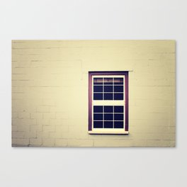 Purple Window Canvas Print