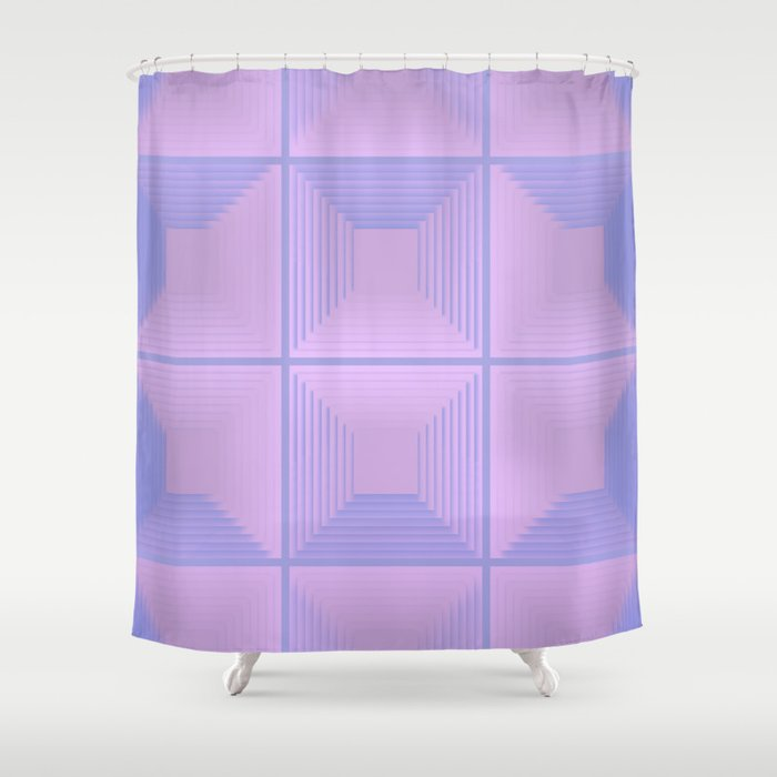 reflected shadow 04 Shower Curtain