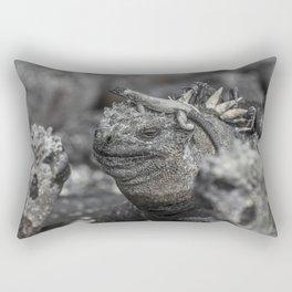 Galapagos marine iguana Rectangular Pillow