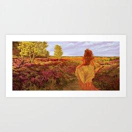 Susan's World Art Print