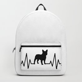 Love French bulldog, frenchies, frenchy Backpack