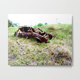 Parking Space Metal Print
