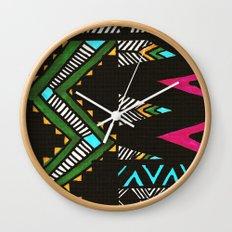 Tribal Dark Wall Clock