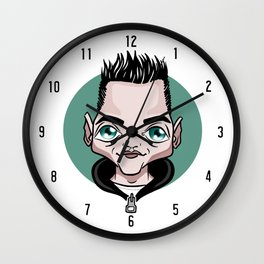 Hello Friend Wall Clock