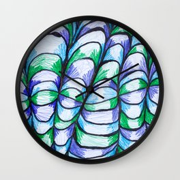 Mountaineous Loom Wall Clock