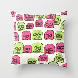Doom Drops Throw Pillow