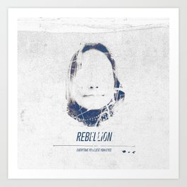 Rebellion Art Print