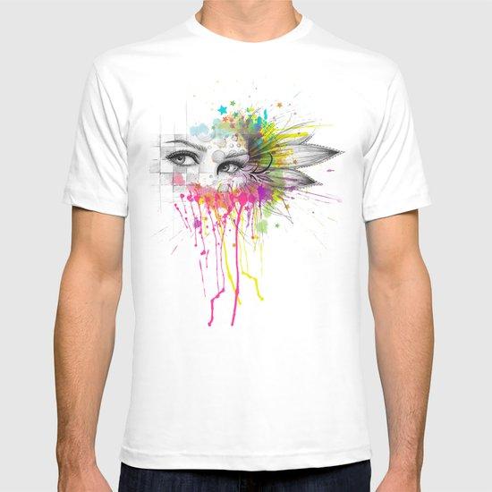 Beautiful Flower Eyes T-shirt