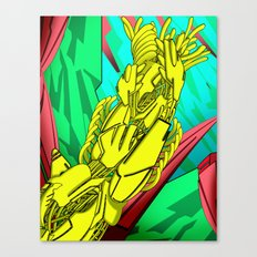 AUTOMATIC WORM 5 Canvas Print