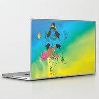 shiva Laptop & iPad Skins featuring Lord Shiva by xDiNKix