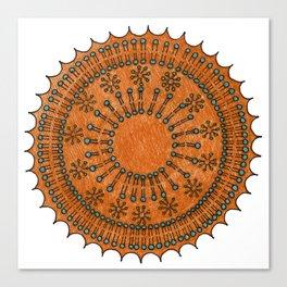 Vesicle Mandala 01 Canvas Print