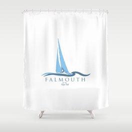 Falmouth - Cape Cod. Shower Curtain