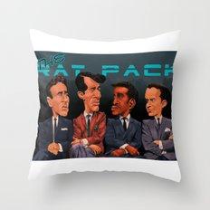 The Rat Pack Throw Pillow